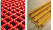 Fibre Glass Grating Moulded and Pultruded